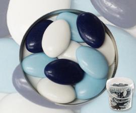 Suikerbonen blauw mix emmer 450 gr
