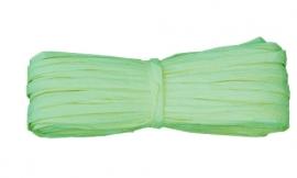 Raffia Licht groen 30m