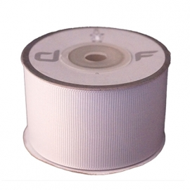 Grosgrain lint Wit 38mm-10m