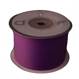 Grosgrain lint Paars 38mm-10m