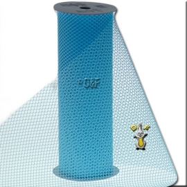 Tafelloper Licht blauw 11cm-3m
