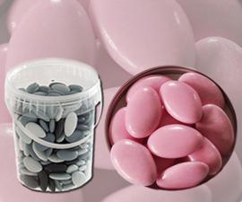 Bruidsuiker roze emmer 900gr