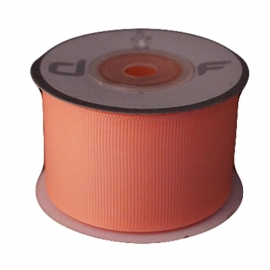 Grosgrain lint Zalm 38mm-10m