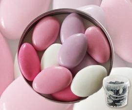Suikerbonen roze mix 450 gr