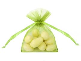 Organza zakjes appel groen 10st