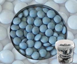 Suikerbonen confetti Licht blauw 400 gr