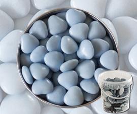 Suikerbonen hartjes blauw emmer 450 gr