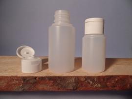 Fles HDPE 100 ml  10 stuks