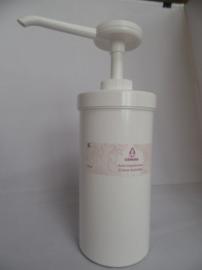 Zalfpot 500 ml met doseerpomp
