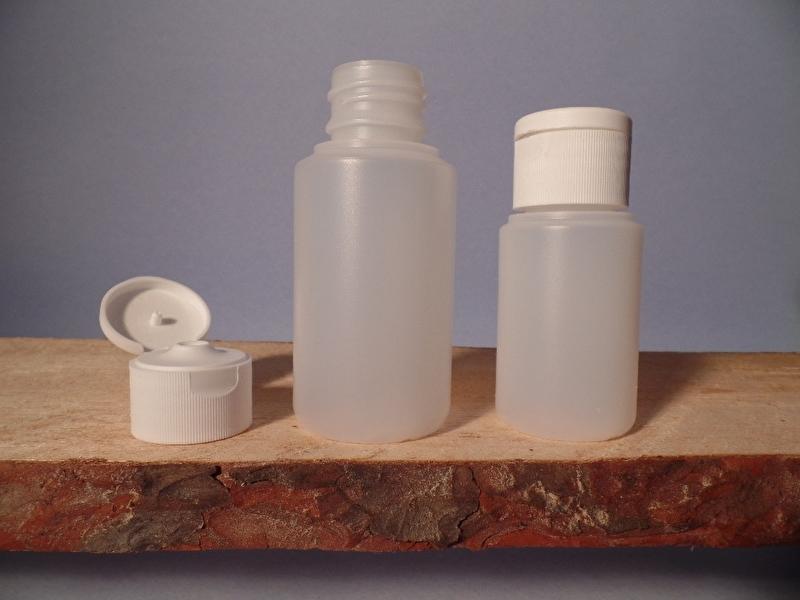 Fles HDPE 60 ml  10 stuks