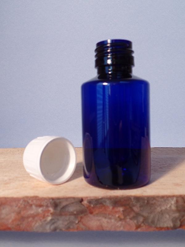 Fles Blauw Pet 100 ml 10 stuks