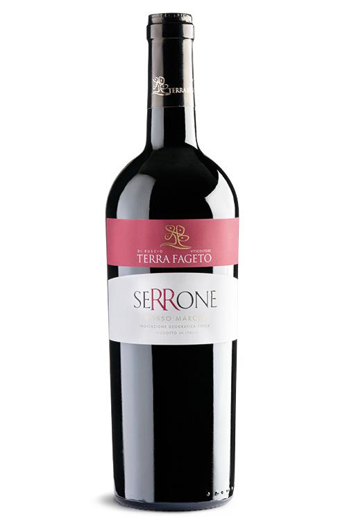 Terre Fageto - Marche Rosso IGT  - Serrone - Riserva