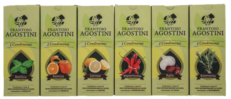 Frantoio Agostini - Olijfolie Extravergine - Peperoncino - 0.25Lt