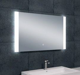 Wiesbaden Sunny dimbare LED condensvrije spiegel 100x60x3 cm