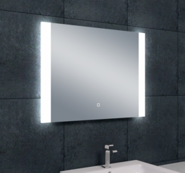 Wiesbaden Sunny dimbare LED condensvrije spiegel 80x60x3 cm