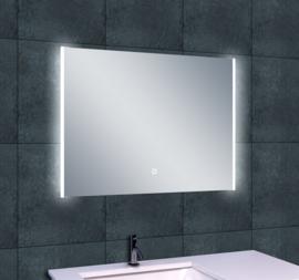 Wiesbaden Duo LED condensvrije spiegel 80x60x3,8 cm