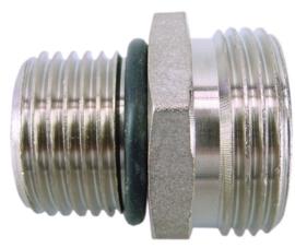 "Rd-901 nippels 1/2""bui.lang x eurokonus 3/4"" + o-ring"