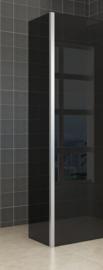 Wiesbaden zijwand + hoekprofiel (35 cm) 10 mm rookglas