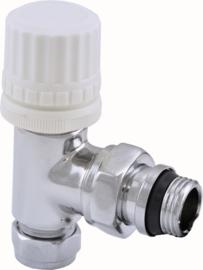 """Riko thermostaat voorber. ventiel 1/2""""x15 mm (M-22) knel haaks"""