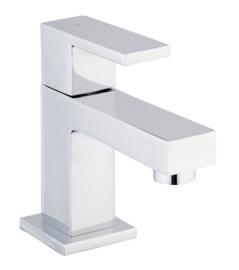 Wiesbaden Rombo toiletkraan vierkant, chroom of geborsteld staal