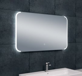 Wiesbaden Bracket dimbare LED condensvrije spiegel 100x60x3 cm