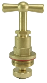 Bovendeel voor stopkraan 12 mm, 15 mm of 22 mm