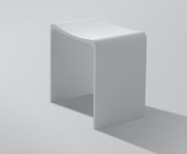 Solid surface kruk 40x30x42,5 cm