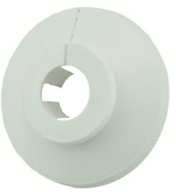 Klemrozet Wit Rond 15 mm