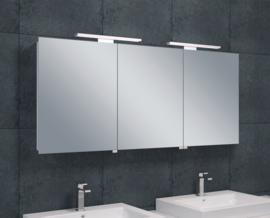 Wiesbaden luxe spiegelkast met LED verlichting 140x60x14 cm