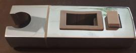 Los glijstukje vierkant chroom (tbv k293969 opbouwset)