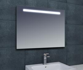 Wiesbaden Tigris spiegel met LED verlichting 100x80x3,1 cm