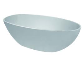 Wiesbaden Ellips vrijstaand ligbad 180x90x58 cm acryl