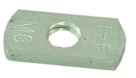 Losse vierkante moer M-6 (tbv clickzadels)