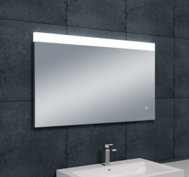 Wiesbaden Single dimbare LED condensvrije spiegel 100x60x3 cm