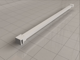 Slim stabilisatiestang 120 cm wit