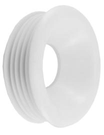 Riko valpijpmanchet (tbv laag- of hooghangend toilet) wit