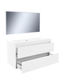 Vision meubelset (incl. spiegel) 100 cm wit