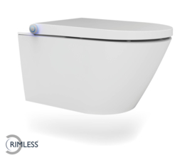 Vesta-Comfort Rimless wand douche-WC wit