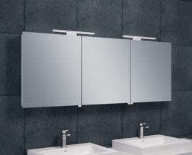 Wiesbaden luxe spiegelkast met LED verlichting 160x60x14 cm