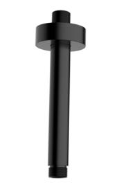 luxe douche-arm rond plafondbev. 30cm mat-zwart