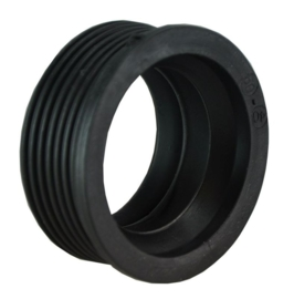 Riko rubber manchet 40x32 mm of 50x32 mm zwart