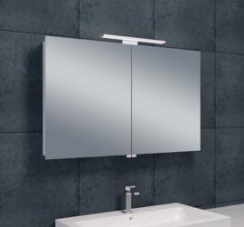 Wiesbaden luxe spiegelkast met LED verlichting 100x60x14 cm