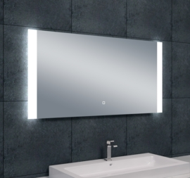 Wiesbaden Sunny dimbare LED condensvrije spiegel 120x60x3 cm