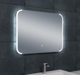 Wiesbaden Bracket dimbare LED condensvrije spiegel 80x60x3 cm