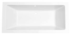 Santino SQ inbouw ligbad 180*80*49 cm mat wit DUO