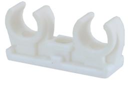 CV klembeugel dubbel 12 mm, 15 mm of 22 mm, plastic