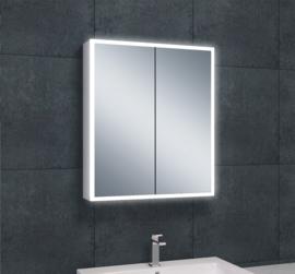 Wiesbaden Quatro spiegelkast met LED verlichting 60x70x13 cm