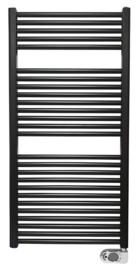 Elara elektrische radiator 118,5 x 60 cm mat-zwart