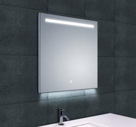 Wiesbaden Ambi One LED condensvrije spiegel 60x60x3,7 cm