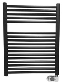 Elara elektrische radiator 76,6 x 60 cm mat-zwart